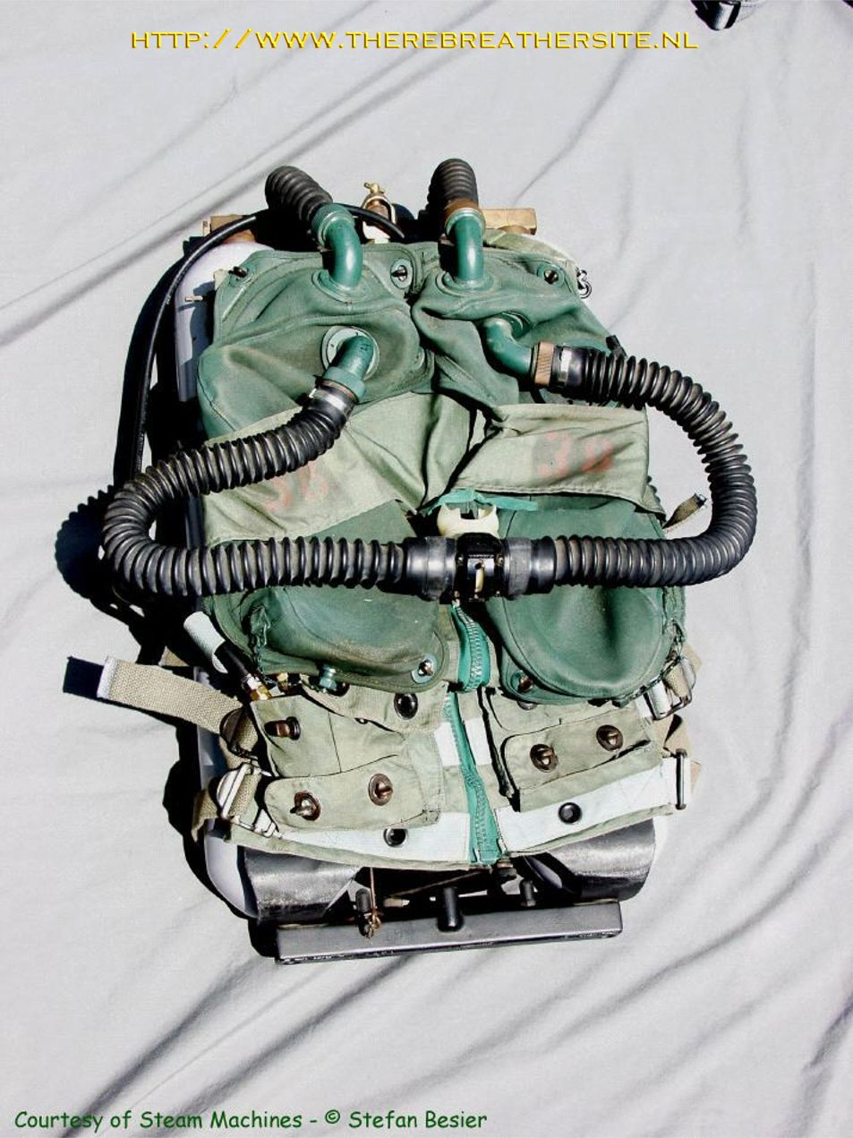 Emerson Mk6 Rebreather Gas Circuit Of A Passive Addition Semiclosed