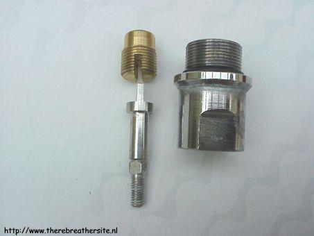 Overhaul cylinder valve